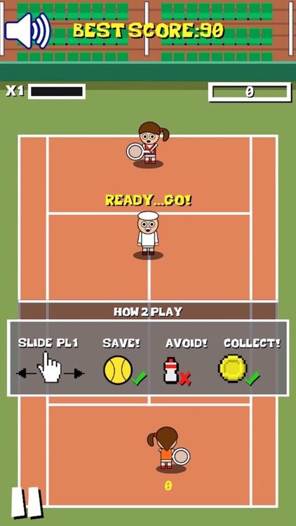 Retro Tiny Tennis