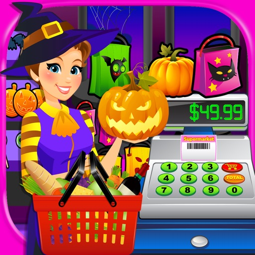 Halloween Supermarket - Grocery Store Games FREE