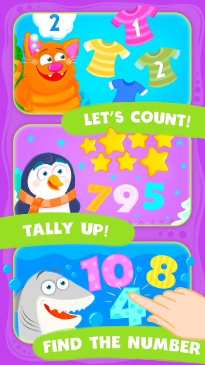 Animal Number Games for Toddlers Games for Free screenshot-3