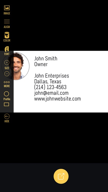 Business Card Producer
