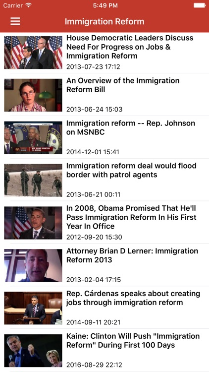 Immigration News & Latest Refugee Updates Pro screenshot-3