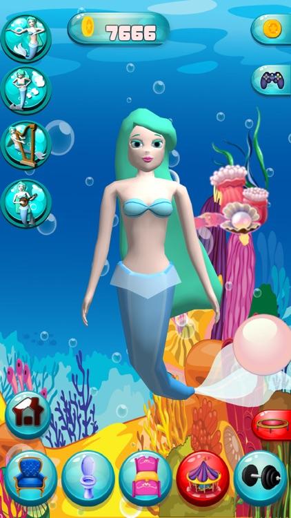 Talking Mermaid screenshot-3