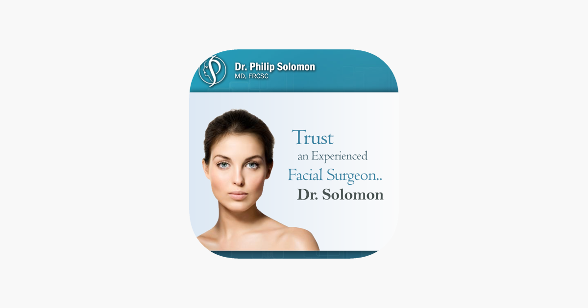 Cosmetic Facial & Rhinoplasty Surgery - Dr Solomon on the App Store