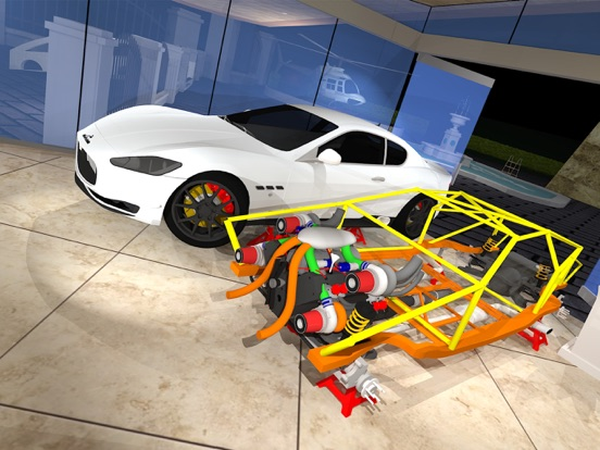 Screenshot 1 For Fix My Car Luxury Sports Build And Race Lite