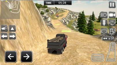 重型运输货物的卡车司机模拟器 3D App 截图
