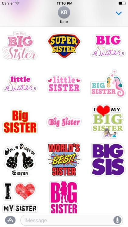 Bro. & Sis. - Stickers for iMessage screenshot-3