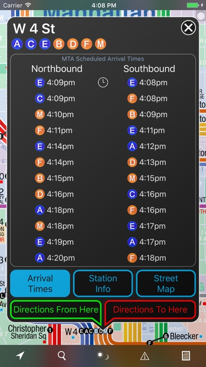 NYC Subway 24-Hour KickMap screenshot-3