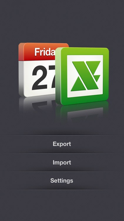 xCalendar - Export/Import Calendar to/from Excel