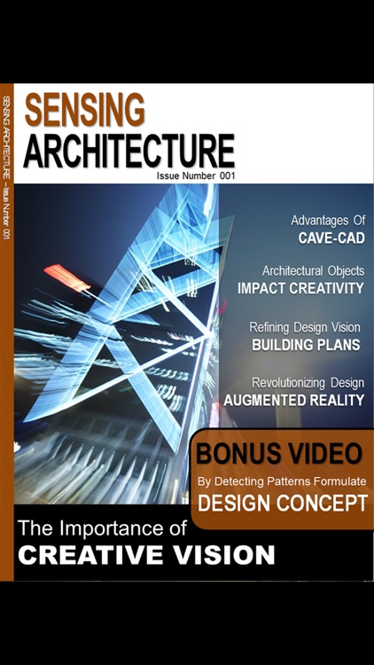 Sensing Architecture Magazine