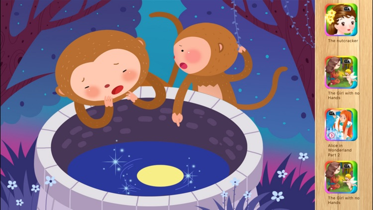 The Monkeys Who Tried to Catch the Moon -iBigToy