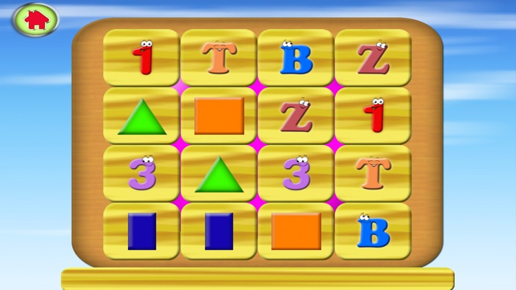 ABC Cards - Alphabet 123 Memory Card Match screenshot-3
