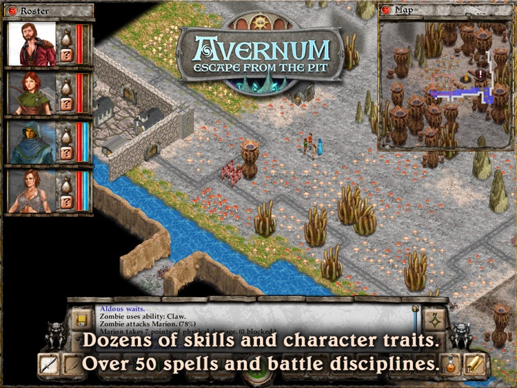 Avernum: Escape From the Pit HD screenshot-4