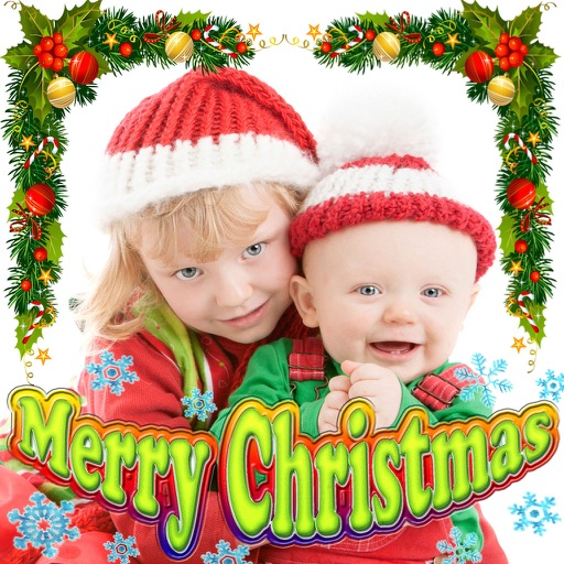Merry Christmas Greeting Cards and Stickers iOS App