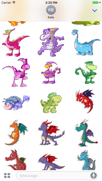 Dragons of the Lair Stickers Mania