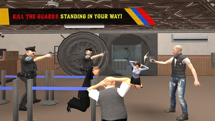 Bank Robbery Escape Simulator 2016 - Crime Scene screenshot-3