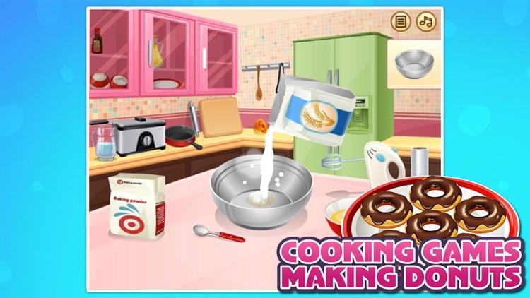 Cooking Games:Making Donuts screenshot-3