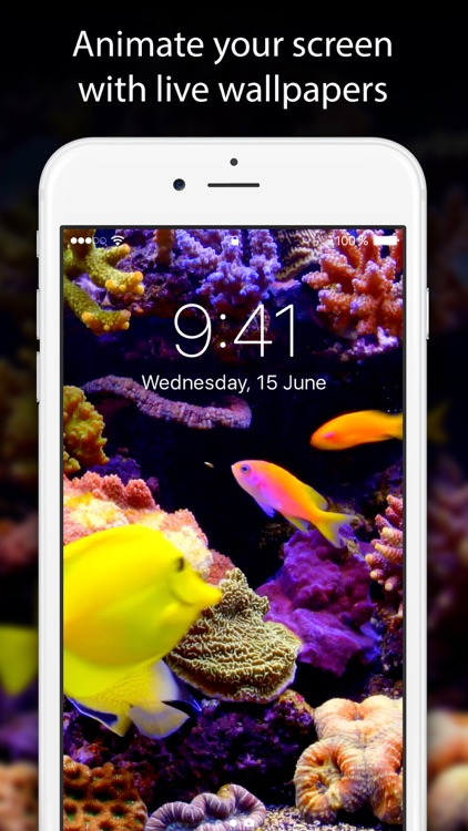 Live Wallpapers & Themes Free - Moving Backgrounds screenshot-0
