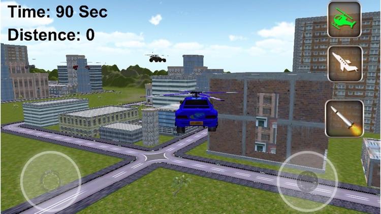 Jet Car Stunts Extreme Flight Pilot Simulator 2016 screenshot-4