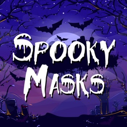 Spooky Masks - Halloween Stickers For Your Photos!
