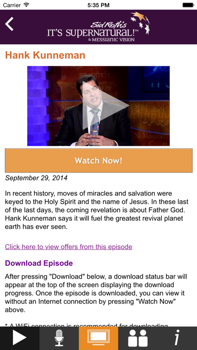 Sid Roth's It's Supernatural! Network screenshot three
