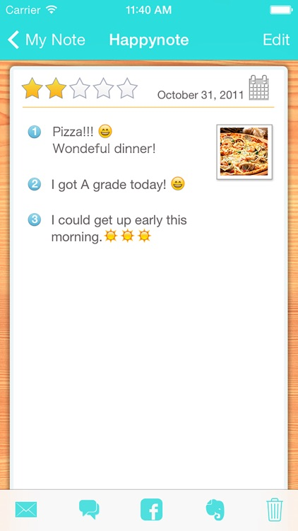 Think happy thoughts! Happynote screenshot-3