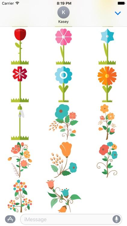 Flower Sticker Pack