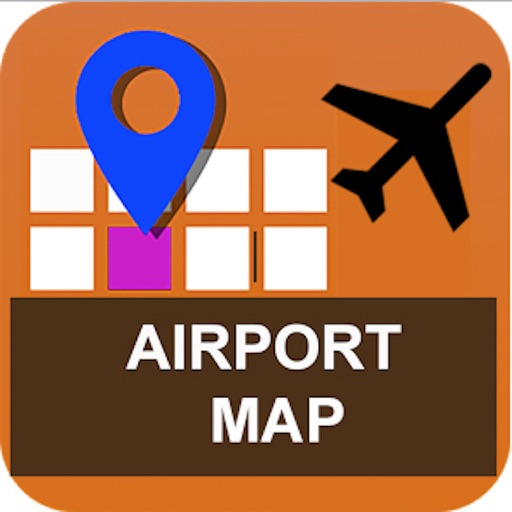 Airport Map Pro - Gates & Places Inside Airports icon