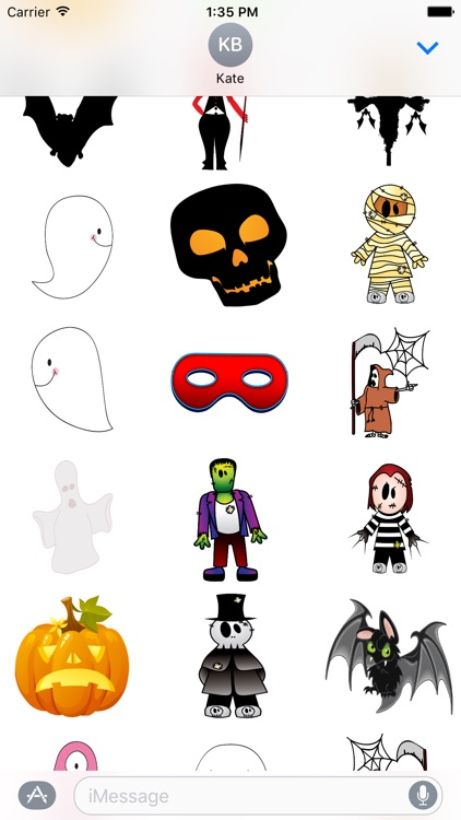 Halloween Stickers and Texts screenshot-1