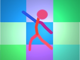 Meet the ten animated dancing stick figures who really know how to bust a move