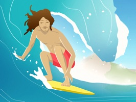 Go Surf Stickers - Surf and Beach Lifestyle