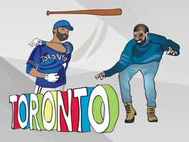 Experience Toronto with this impressive sticker pack