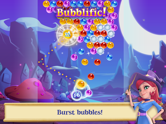 Bubble Witch 2 Saga на iPad