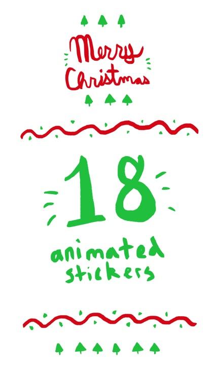 Christmasville Stickers screenshot-0
