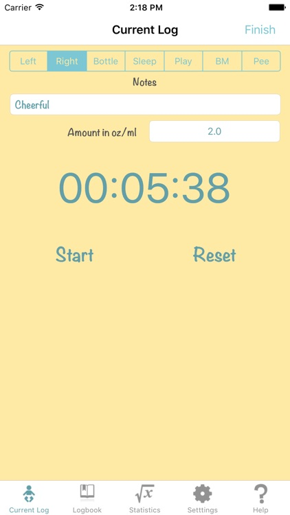Baby Log PRO - Feed Timer Breastfeeding Tracker screenshot-3