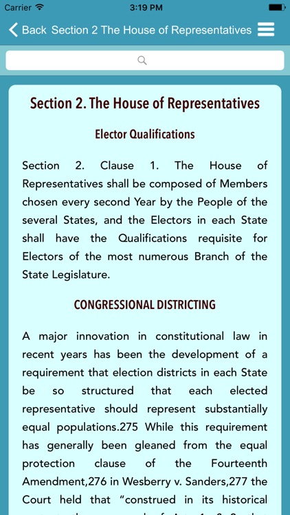 US Constitution - Reference Guide
