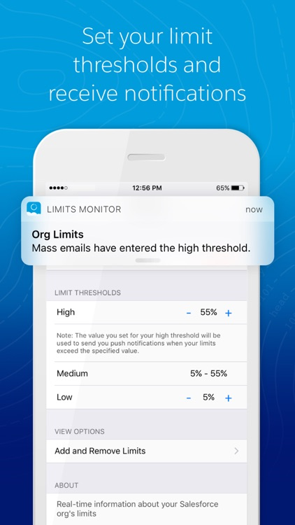 Limits Monitor by salesforce com