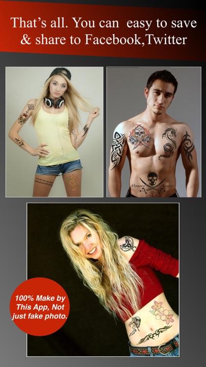 Tattoo booth creator & design screenshot-4