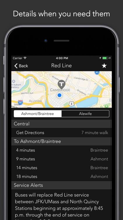ProximiT - Boston MBTA Tracker for Bus and Subway screenshot-3