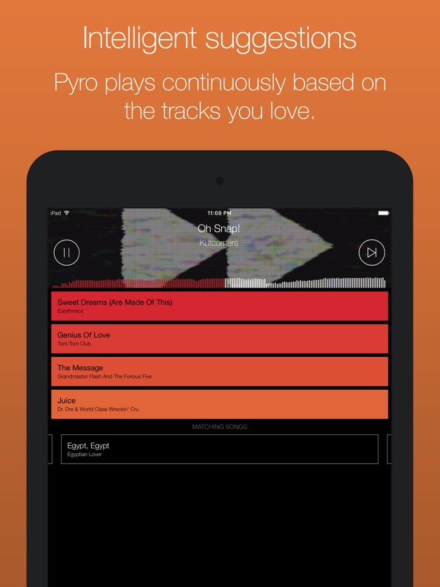 Serato Pyro - automatically mix your music on the App Store