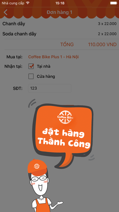 Coffee Bike VietNam screenshot three
