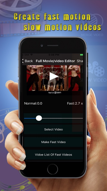 Full Movie And video Editor Pro screenshot-2