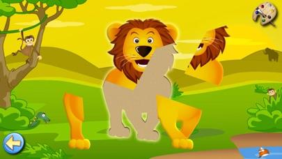サバンナ:子供のためのパズルとカラー , 知育 ぱずる, 幼児 知育 無料 子ども向け ゲーム 無料のおすすめ画像1
