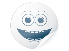 White Stickies Smileys is a fun stickers pack for iMessage