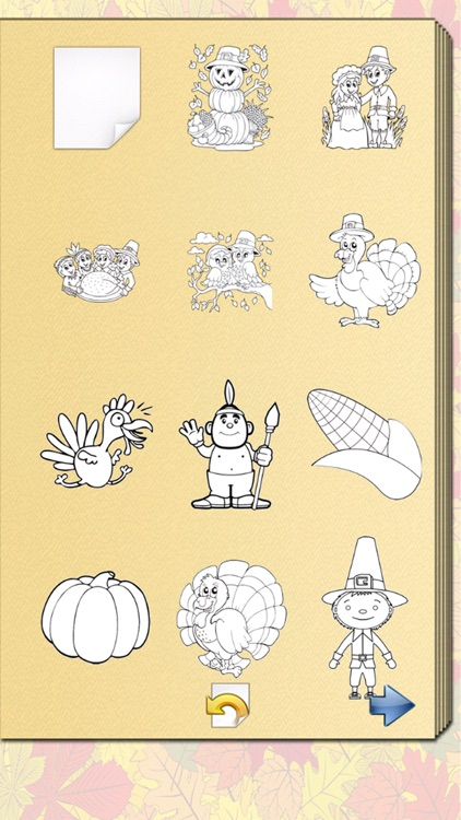 Thanksgiving Coloring Book! screenshot-3