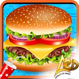 Burger Maker Kitchen Chef – Kids Fast Food Cooking