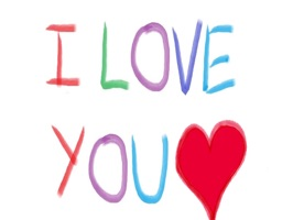 Show that special someone in your life that you love them by sending them an I love you sticker