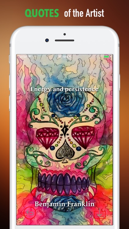 Sugar Skulls Wallpapers HD|Quotes,Art Pictures screenshot-3