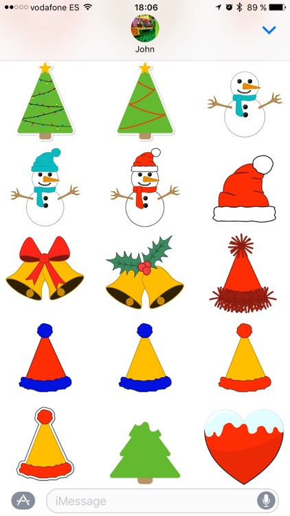 Merry Christmas! Sticker Pack
