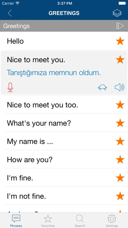 Learn Turkish Phrases & Words