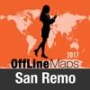 Sanremo mapa offline y guía de viaje